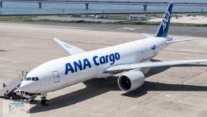 ANA、貨物専用機ボーイング777F型機を導入